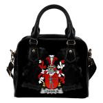 Loughlin or O'Loughlin Ireland Shoulder Handbag - Irish Family Crest   Highest Quality Standard
