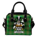 Ardagh Ireland Shoulder Handbag Irish National Tartan    Over 1400 Crests   Bags   Water-Resistant PU leather