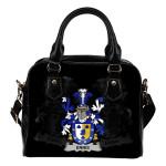 Ennis Ireland Shoulder Handbag - Irish Family Crest | Highest Quality Standard