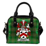 Nesbitt Ireland Shoulder Handbag Irish National Tartan    Over 1400 Crests   Bags   Water-Resistant PU leather