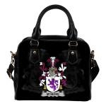 McMore or More Ireland Shoulder Handbag - Irish Family Crest   Highest Quality Standard
