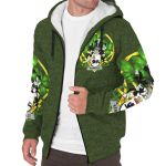 Kennelly or O'Kineally Ireland Sherpa Hoodie Celtic and Shamrock   Over 1400 Crests   Clothing   Apparel