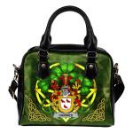 Cairnes Ireland Shoulder HandBag Celtic Shamrock | Over 1400 Crests | Bags | Premium Quality