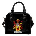 Logan Ireland Shoulder Handbag - Irish Family Crest | Highest Quality Standard