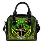 Gillman Ireland Shoulder HandBag Celtic Shamrock | Over 1400 Crests | Bags | Premium Quality