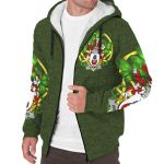 Harmon Ireland Sherpa Hoodie Celtic and Shamrock | Over 1400 Crests | Clothing | Apparel