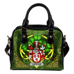 Carkham Ireland Shoulder HandBag Celtic Shamrock | Over 1400 Crests | Bags | Premium Quality