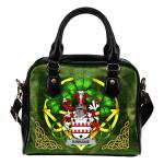 Kinnane or O'Kinane Ireland Shoulder HandBag Celtic Shamrock | Over 1400 Crests | Bags | Premium Quality