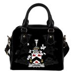 Lehane or O'Lehane Ireland Shoulder Handbag - Irish Family Crest   Highest Quality Standard