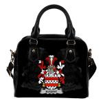 Nugent Ireland Shoulder Handbag - Irish Family Crest | Highest Quality Standard