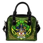 McCann Ireland Shoulder HandBag Celtic Shamrock | Over 1400 Crests | Bags | Premium Quality