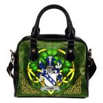 Lowe Ireland Shoulder HandBag Celtic Shamrock | Over 1400 Crests | Bags | Premium Quality