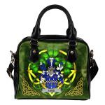 Lees or McAleese Ireland Shoulder HandBag Celtic Shamrock | Over 1400 Crests | Bags | Premium Quality
