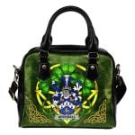 Archdall Ireland Shoulder HandBag Celtic Shamrock | Over 1400 Crests | Bags | Premium Quality