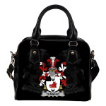Tennent Ireland Shoulder Handbag - Irish Family Crest | Highest Quality Standard