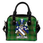 Aland Ireland Shoulder Handbag Irish National Tartan    Over 1400 Crests   Bags   Water-Resistant PU leather