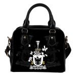 Moriarty or O'Moriarty Ireland Shoulder Handbag - Irish Family Crest   Highest Quality Standard