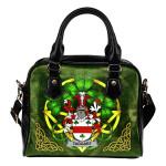 Taggart or McEntaggart Ireland Shoulder HandBag Celtic Shamrock | Over 1400 Crests | Bags | Premium Quality