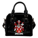 Ryan or O'Mulrian Ireland Shoulder Handbag - Irish Family Crest   Highest Quality Standard