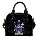 Garvan or O'Garvan Ireland Shoulder Handbag - Irish Family Crest | Highest Quality Standard