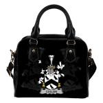 Cullen or McCullen Ireland Shoulder Handbag - Irish Family Crest   Highest Quality Standard