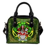 Esmonde Ireland Shoulder HandBag Celtic Shamrock | Over 1400 Crests | Bags | Premium Quality