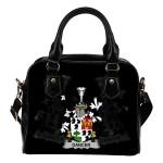 Dancer Ireland Shoulder Handbag - Irish Family Crest   Highest Quality Standard