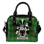 Murtaugh Ireland Shoulder Handbag Irish National Tartan    Over 1400 Crests   Bags   Water-Resistant PU leather