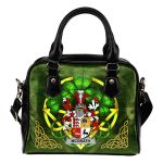 McGrath or McGraw Ireland Shoulder HandBag Celtic Shamrock | Over 1400 Crests | Bags | Premium Quality