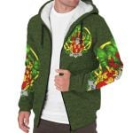 Hamley Ireland Sherpa Hoodie Celtic and Shamrock | Over 1400 Crests | Clothing | Apparel
