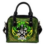 Lee or O'Lee Ireland Shoulder HandBag Celtic Shamrock | Over 1400 Crests | Bags | Premium Quality