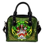 May Ireland Shoulder HandBag Celtic Shamrock | Over 1400 Crests | Bags | Premium Quality