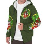 Mall Ireland Sherpa Hoodie Celtic and Shamrock | Over 1400 Crests | Clothing | Apparel