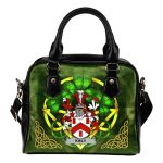 Kiely Ireland Shoulder HandBag Celtic Shamrock | Over 1400 Crests | Bags | Premium Quality