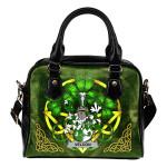 Veldon Ireland Shoulder HandBag Celtic Shamrock | Over 1400 Crests | Bags | Premium Quality