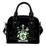 Holmes Ireland Shoulder Handbag - Irish Family Crest | Highest Quality Standard