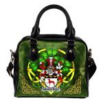 Bradstreet Ireland Shoulder HandBag Celtic Shamrock | Over 1400 Crests | Bags | Premium Quality