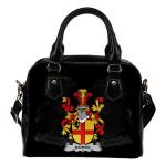 Burke Ireland Shoulder Handbag - Irish Family Crest   Highest Quality Standard