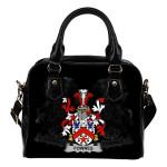 Fownes Ireland Shoulder Handbag - Irish Family Crest | Highest Quality Standard