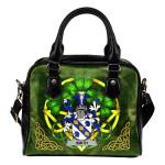 Smith or Smyth Ireland Shoulder HandBag Celtic Shamrock   Over 1400 Crests   Bags   Premium Quality