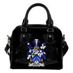 Bagot Ireland Shoulder Handbag - Irish Family Crest | Highest Quality Standard