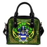 Vyan Ireland Shoulder HandBag Celtic Shamrock   Over 1400 Crests   Bags   Premium Quality