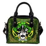 Stening Ireland Shoulder HandBag Celtic Shamrock | Over 1400 Crests | Bags | Premium Quality