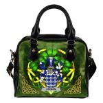 Cronin or O'Cronin Ireland Shoulder HandBag Celtic Shamrock | Over 1400 Crests | Bags | Premium Quality