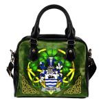 Phillips Ireland Shoulder HandBag Celtic Shamrock | Over 1400 Crests | Bags | Premium Quality