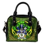 Dowling or O'Dowling Ireland Shoulder HandBag Celtic Shamrock   Over 1400 Crests   Bags   Premium Quality