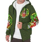 Lydon or Leyden Ireland Sherpa Hoodie Celtic and Shamrock | Over 1400 Crests | Clothing | Apparel