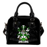 Ker Ireland Shoulder Handbag - Irish Family Crest | Highest Quality Standard