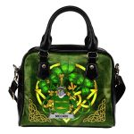 McCain or O'Kane Ireland Shoulder HandBag Celtic Shamrock | Over 1400 Crests | Bags | Premium Quality