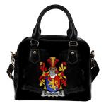 Wormington Ireland Shoulder Handbag - Irish Family Crest   Highest Quality Standard
